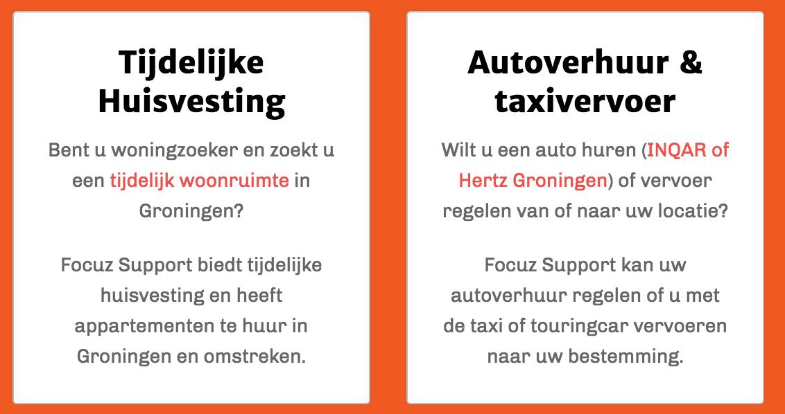 Op zoek naar vervoer in Groningen