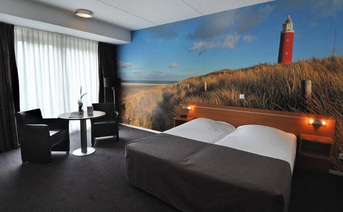 Hotel dekbed texel